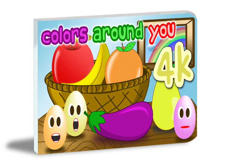 learn colors around you children book
