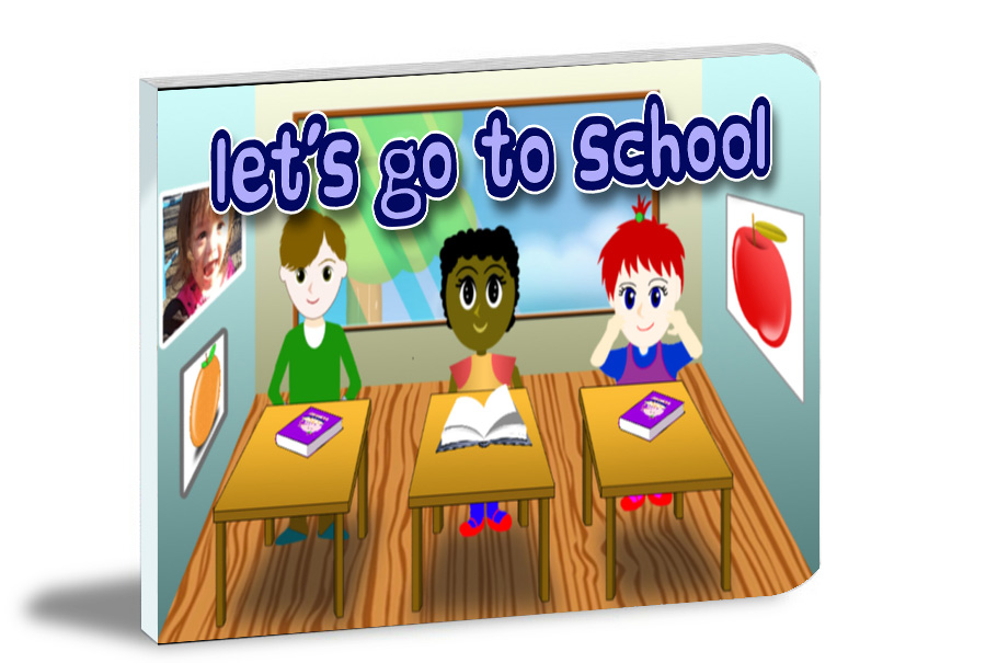 let's go to school book