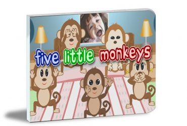 Five Little Monkeys Illustrated Book