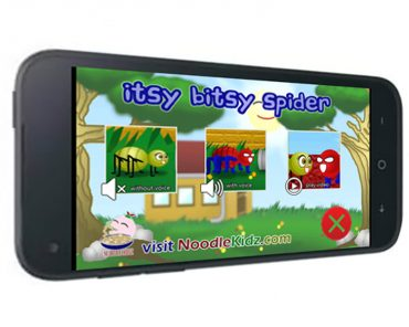 Itsy Bitsy Spider eBook Android App